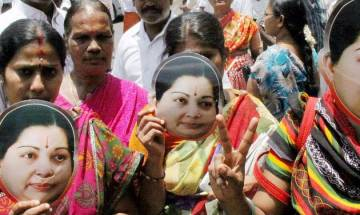 AIADMK leaders and volunteers hold silent procession in memory of Jayalalithaa