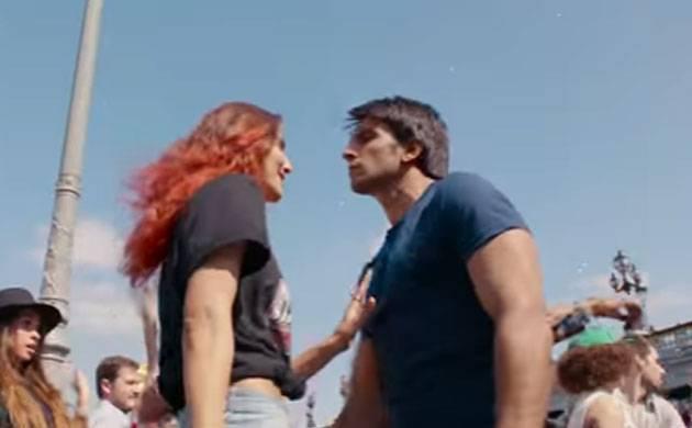 Ranveer Singh and Vaani Kapoor in Befikre ( Image Source: You tube grab)