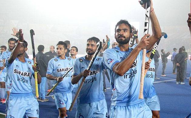 Victorious and jubilant Indian Junior Hockey team (Image Source: Twitter)