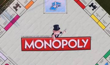 Watch Video: World's largest Monopoly board in Netherlands sets new Guinness record