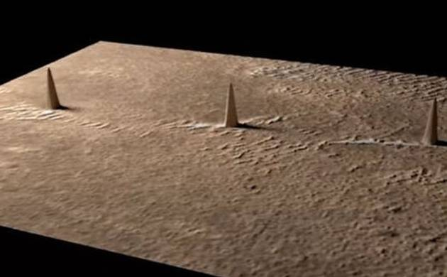 Aliens on Mars? Latest picture shows 'three towers'