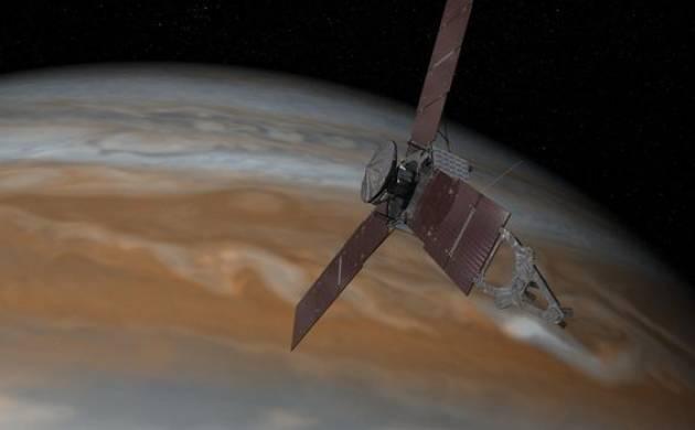 NASA Juno spacecraft captures stunning image of  Jupiter's 'string of pearls'