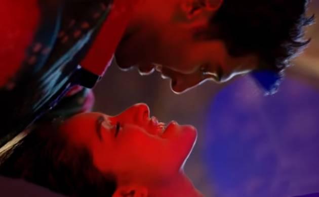 Screegrab from latest Ok Jaanu song Humma Humma from YouTube