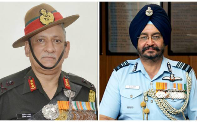 Lt Gen Bipin Rawat appointed as new Army Chief, BS Dhanoa to be new chief of Air Staff
