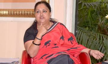 Our government's main priority is to make youth self reliant, says Vasundhara Raje