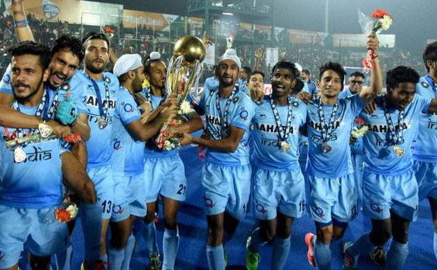 Junior Hockey World Cup team (Image: PTI)