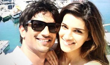 Here's what Kriti Sanon has to say about reports of her 'dirty dancing' with Sushant Singh Rajput