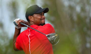 US President-elect Donald Trump hosts Tiger Woods for a round of golf