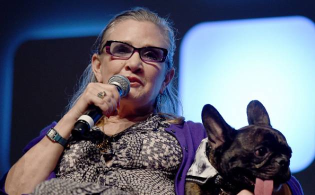 """Star Wars"" actress Carrie Fisher (source: Getty)"