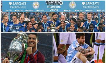 Soccer Year-End Review | Ronaldo's heroics, Messi's heartbreak, Leicester's fairy tale and more
