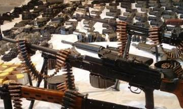 Police seizes large quantity of arms and ammunition in Jharkhand