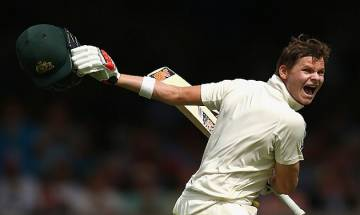 Steve Smith scores 17th Test century before storm halts play in Melbourne Test