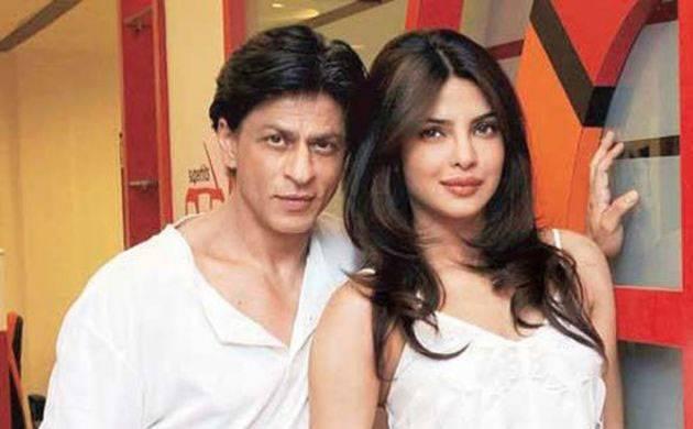 Shahrukh Khan and Priyanka Chopra (Twitter image)