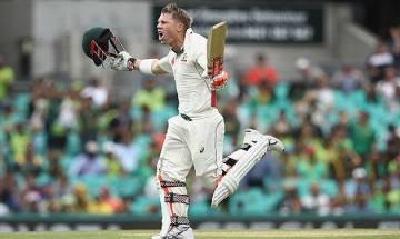 Warner emulates Don Bradman, scores Test ton before lunch against Pakistan in Sydney Test