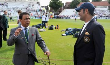Would have staged dharna outside Dhoni's home if he had announced retirement: Sunil Gavaskar