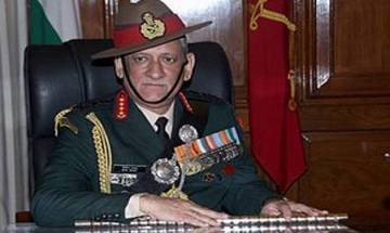Army chief Gen Bipin Rawat to visit J-K to review security, operational preparedness