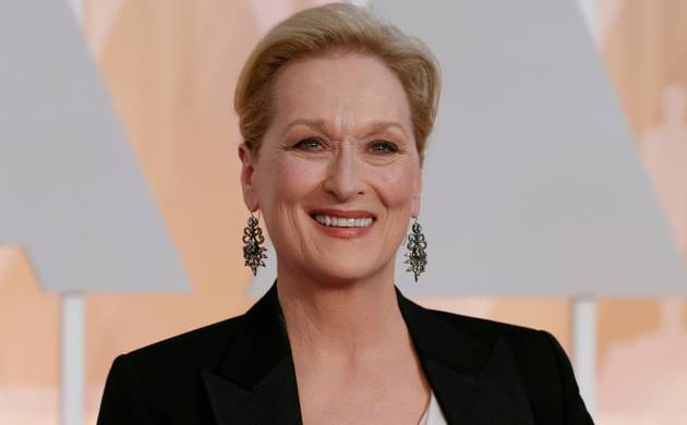 Veteran actress Meryle Streep