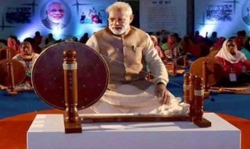 Replacing Mahatma Gandhi's photos with Narendra Modi's at KVIC calendar is extremely painful, says Shiv Sena