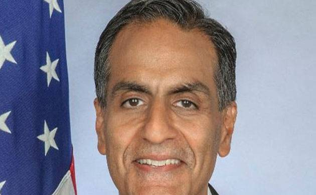 Outgoing US envoy to India Richard Verma (Twitter pic)