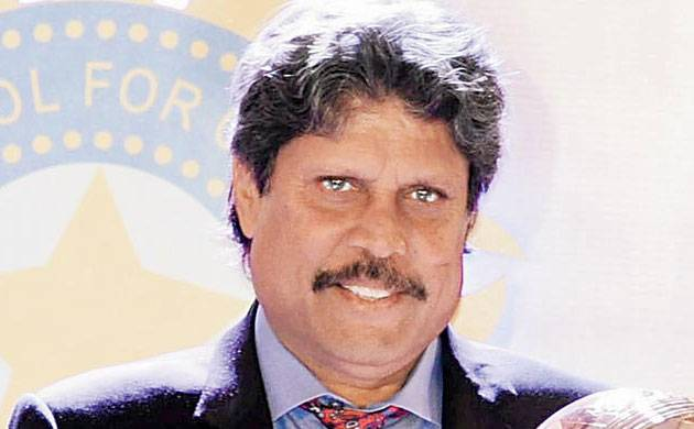 Cricket icon Kapil Dev