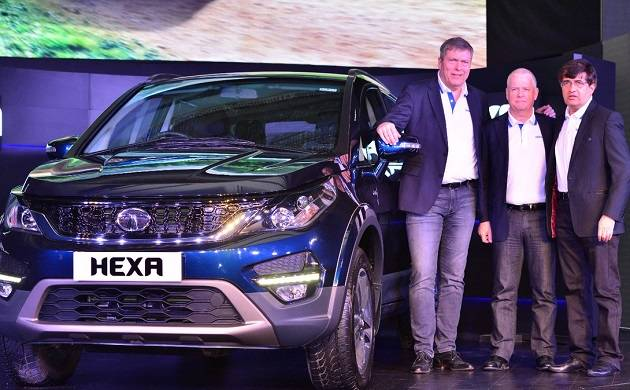 Crossover SUV Tata Hexa launched; Check price, features, specifications and more (source: twitter/TataMotors)