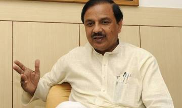 UP Polls: Upset over ticket to turncoats, BJP workers burn effigy of Union minister Mahesh Sharma