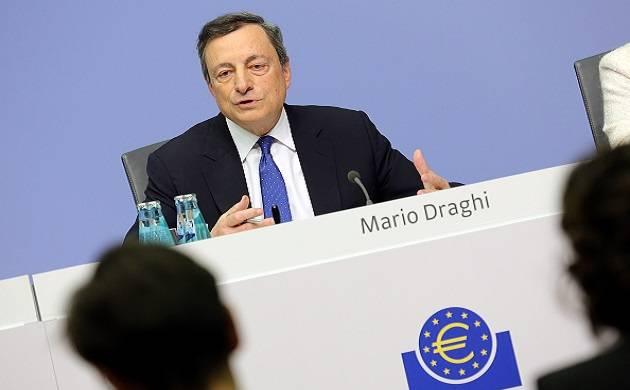File pics: ECB president Mario Draghi
