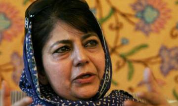 Over 5,700 Rohingya Muslims presently living in Jammu and Kashmir, informs CM Mehbooba Mufti