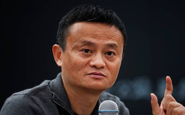 Alibaba Group's Executive Chairman Jack Ma (source Getty Images)