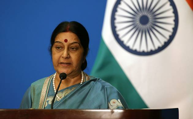 India is my country, Indians are my people, religion is irrelevant: Sushma Swaraj (File Photo)