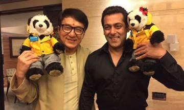'Kung Fu Yoga' promotions: Hollywood actor Jackie Chan meets Bollywood superstar Salman Khan during his India visit