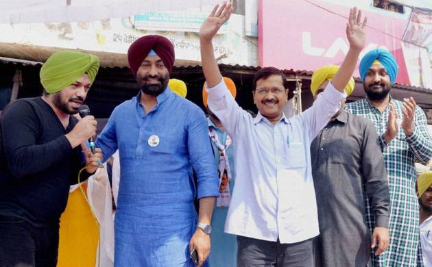 AAP chief Arvind Kejriwal in Punjab (File Photo)