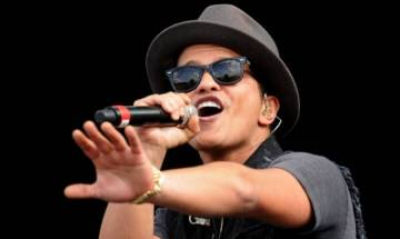 Singer Bruno Mars to perform at 59th Annual Grammy Awards