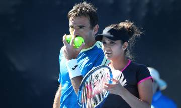 Australian Open: Unseeded American-Colombian pair beats Sania Mirza-Ivan Dodig 6-2,6-4 to win Mixed Doubles title