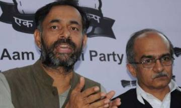 Punjab Polls: Don't vote for fraud AAP, says Yadav and Bhushan