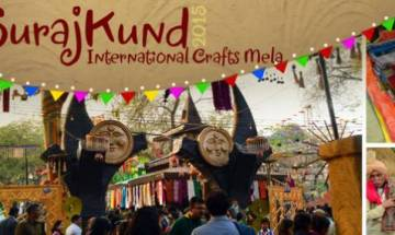 31st Surajkund International Crafts Mela begins with over 20 countries participating