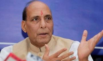 UP polls: Political mud created by SP, BSP will help lotus to bloom, says Rajnath Singh