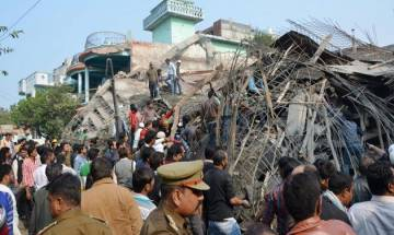 Kanpur building collapse: 3 engineers and officer on special duty suspended by UP govt