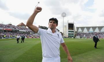 Alastair Cook resigns as England Test team's skipper