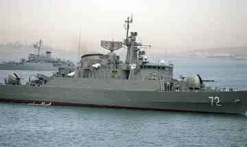 US and Russia's warships arrive for Pak naval drill in Arabian Sea