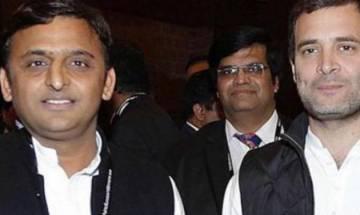 UP Polls 2017   Akhilesh, Rahul release 10-points common minimum programme