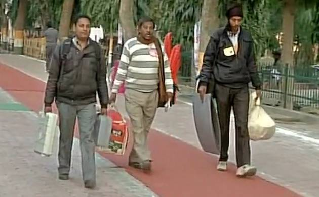UP assembly elections 2017, Phase 1: About 54 per cent votes polled till 4 PM (ANI Image)