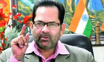 Rahul does not talk anything, he talks confusedly, says Mukhtar Abbas Naqvi