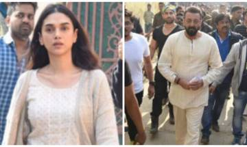 Sanjay Dutt and Aditi Rao Hyadri start shooting for 'Bhoomi' in Agra