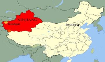 Terror attack in China's western Xinjiang province, 8 killed