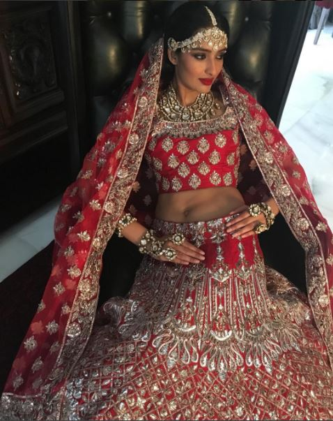 d5e77d529844 Bridal Lehenga Designs By Manish Malhotra 2017: In Pics: Manish Malhotra7s  top 10 Bridal