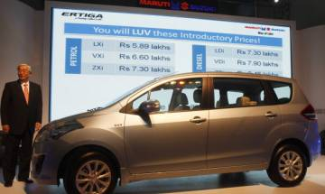 Maruti Suzuki launches new Ertiga limited edition; Price starts Rs 7.85 lakh