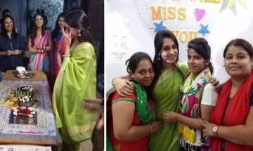 'Sasural Simar Ka': Dipika Kakar aka Simar quits show, gets emotional on last day of shoot (see pics)