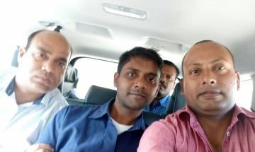 Raipur Police clicks selfie with Psycho killer Udayan Das