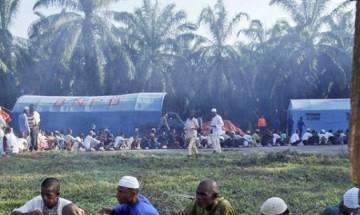 Hundreds of Rohingya return to Myanmar from Bangladesh